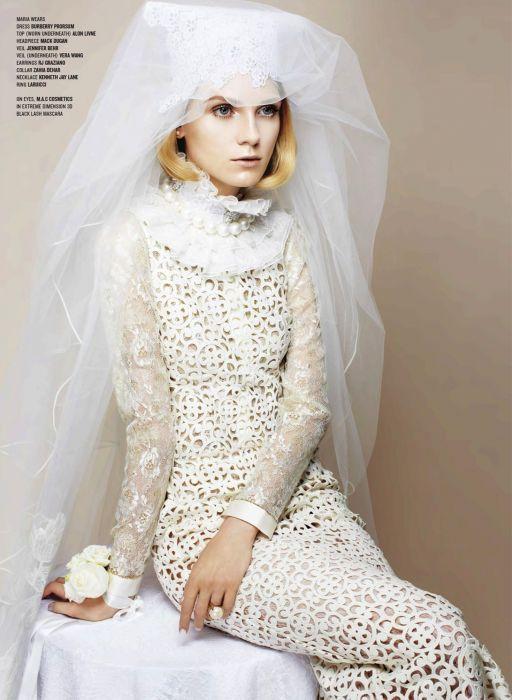 7977675b90 Zupełnie inne suknie ślubne w V Magazine - Elle Wedding - trendy ...