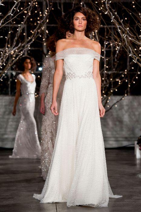Suknie ślubne 2014 Jenny Packham Jesień 2014 Elle Wedding