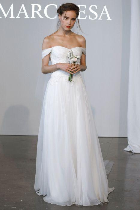 8b6387ff1f Suknie ślubne 2015  Marchesa wiosna 2015 - Elle Wedding - trendy ...