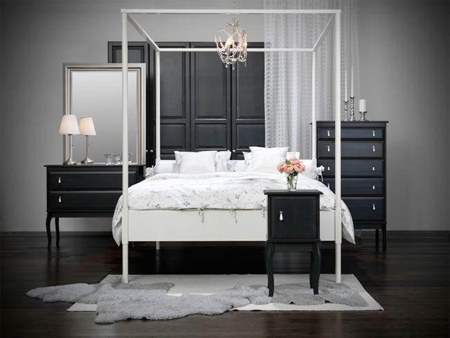 łóżka Z Baldachimem Dla Rozważnej I Romantycznej Elle