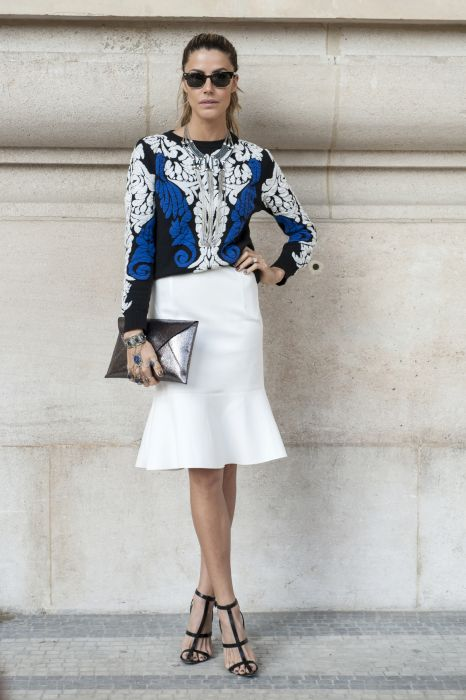 f5bf4c5b00 Street fashion  sposób na lato w biurze - Elle.pl - trendy wiosna ...
