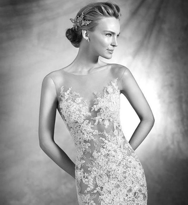 1967fb1d Suknie ślubne Pronovias 2016 - Elle Wedding - trendy wiosna lato ...