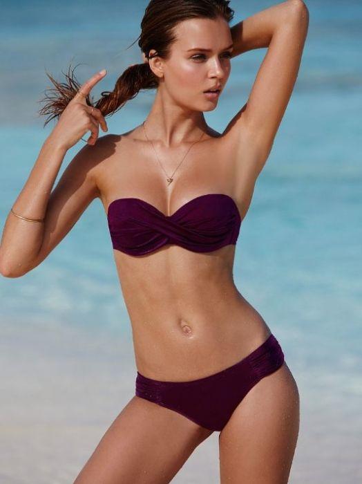 a53500f4816505 Josephine Skriver w kostiumach kąpielowych Victoria's Secret 2015 ...