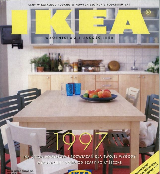 20 Okładek Na 20 Lecie Katalogu Ikea Elle Decoration