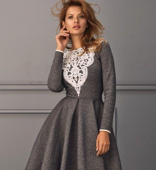 Sukienki Do Pracy Ellepl Trendy Jesień Zima 2019 2020