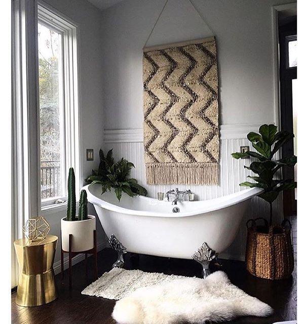 łazienki Z Oknem Elle Decoration Trendy Jesień Zima 2019