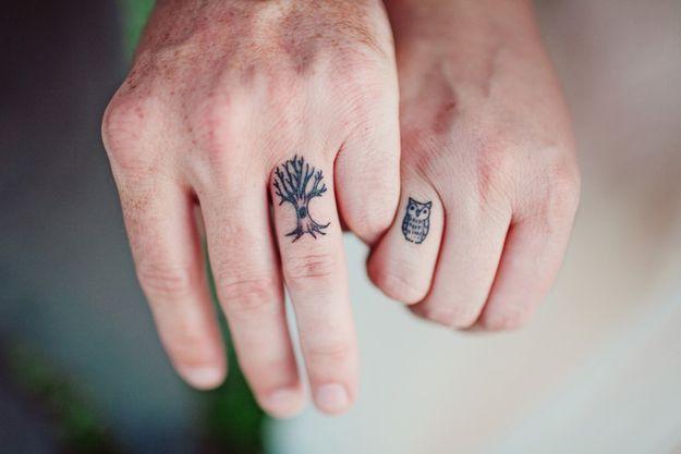 Tatuaże Dla Par Matchingtattoos Ellepl Trendy Jesień