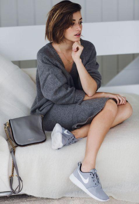 b94b4c297e Sukienki z dzianiny - Elle.pl - trendy wiosna lato 2019  moda