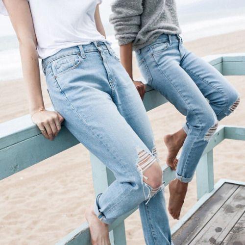 c309b055 Mom jeans - jak je nosi blogosfera? - Elle.pl - trendy wiosna lato ...