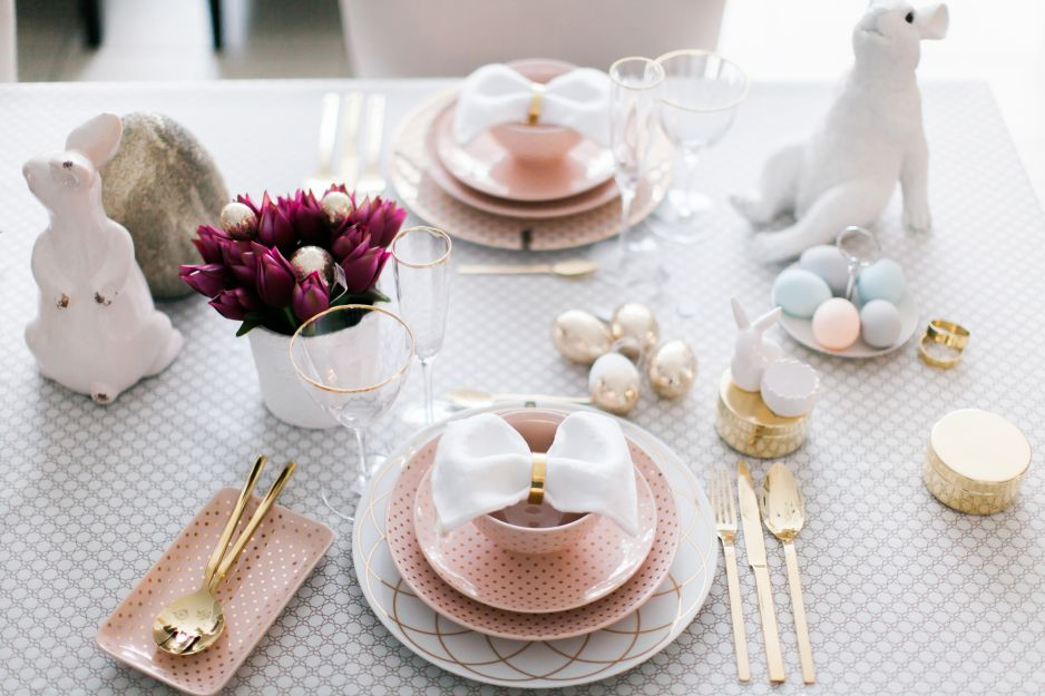 Wielkanocny Stół Inspiracje Elle Decoration Trendy