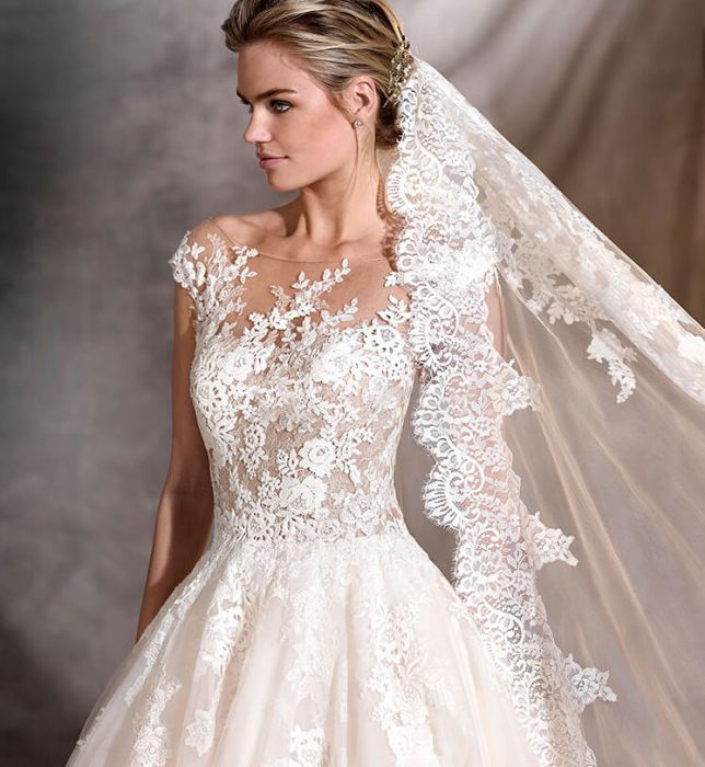 Suknie ślubne Pronovias 2017 Elle Wedding Trendy Wiosna Lato