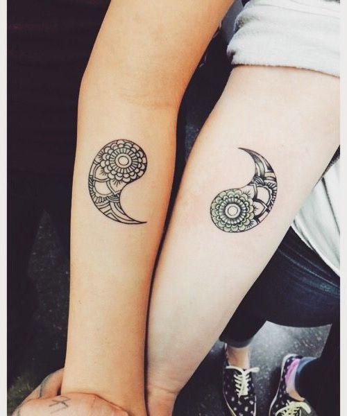 Tatuaże Wzory Dla Przyjaciół Ellepl Trendy Jesień