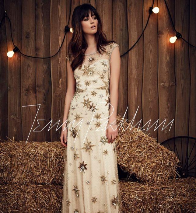 12e506057c Suknie ślubne Jenny Packham wiosna 2017 - Elle Wedding - trendy ...