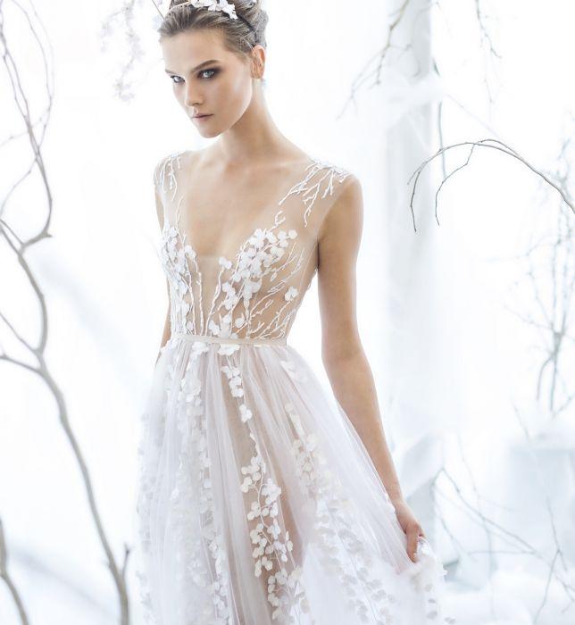 4e5d379193 Suknie ślubne Mira Zwillinger wiosna 2017 - Elle Wedding - trendy ...
