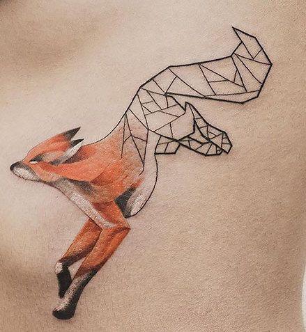 Geometryczne Tatuaże Jaspera Andresa Ellepl Trendy Jesień Zima