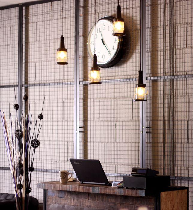Industrialne Wnetrza Salonu Fryzjerskiego Elle Decoration Trendy