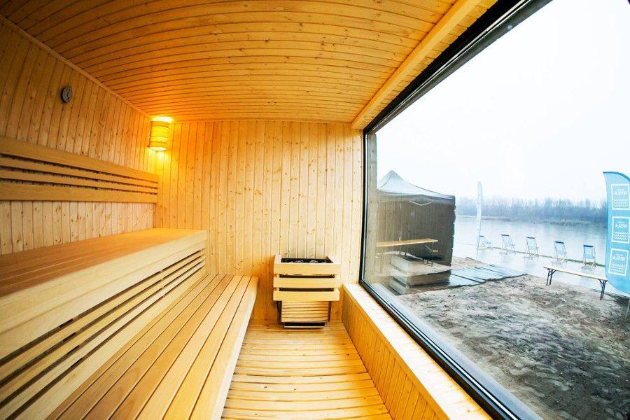 Sauna Nad Wisłą Elle Decoration Trendy Jesień Zima 2019