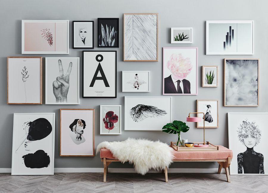 Kącik Z Domową Galerią Elle Decoration Trendy Jesień