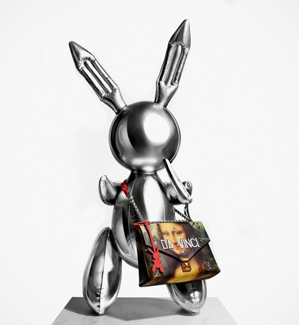 eb19d671c575f Louis Vuitton & Jeff Koons - projekt