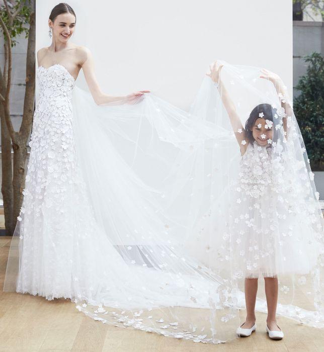 Suknie ślubne Oscar De La Renta Wiosna Lato 2018 Elle Wedding