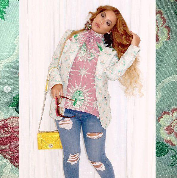 d859163efc Beyoncé w ciąży. Zobacz stylizacje gwiazdy - Elle.pl - trendy wiosna ...