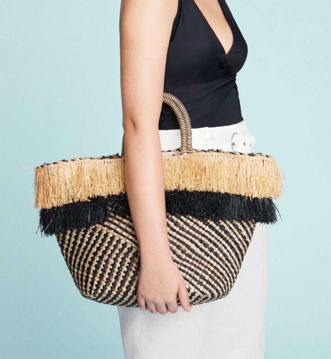 0fafdfcd9c35 Torba plażowa - Elle.pl - trendy wiosna lato 2019  moda