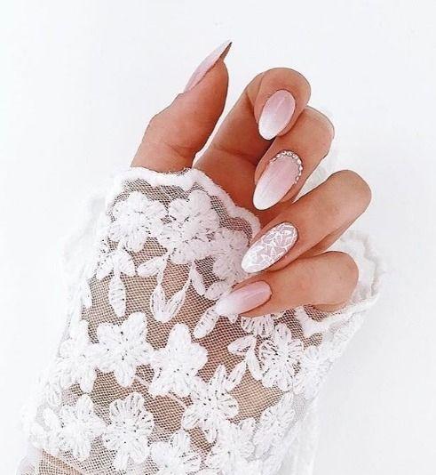 Manicure ślubny Manicure Na Wesele Elle Wedding Trendy Jesień