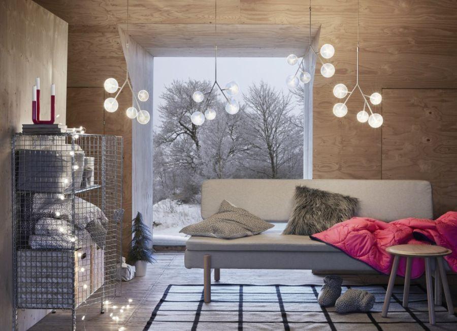 Zimowa świąteczna Kolekcja Ikea Elle Decoration Trendy
