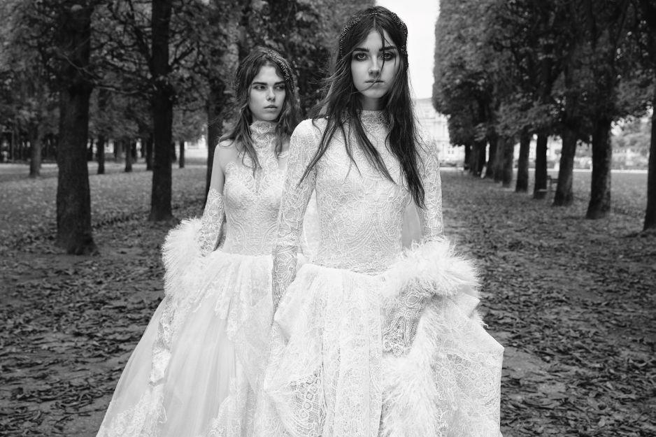 Suknie ślubne Vera Wang Jesień Zima 20182019 Elle Wedding