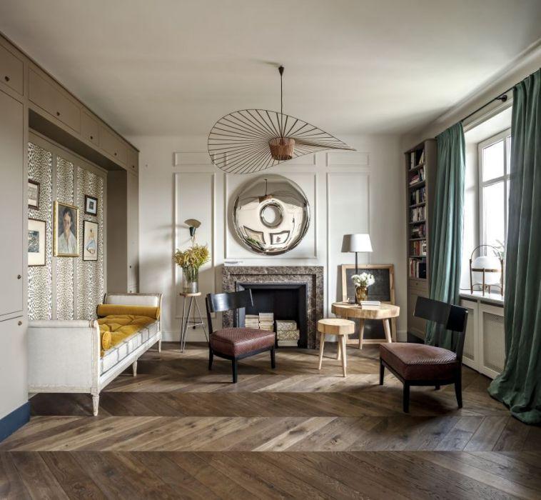 15 Best Interior Design For Elderly Images On Pinterest: Klasyka I Nowoczesność W Warszawskim Mieszkaniu