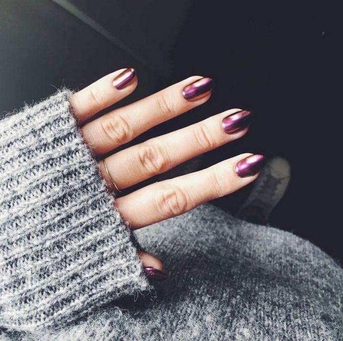 Manicure Na Wesele Elle Wedding Trendy Jesień Zima 2018 Modne