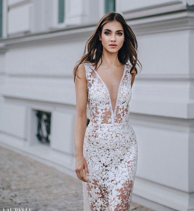 ebe8f60c54 Suknie ślubne Laurelle 2018 - Elle Wedding - trendy wiosna lato 2019 ...