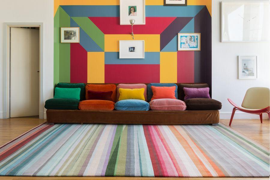Paul Smith Projektuje Dywany Elle Decoration Trendy
