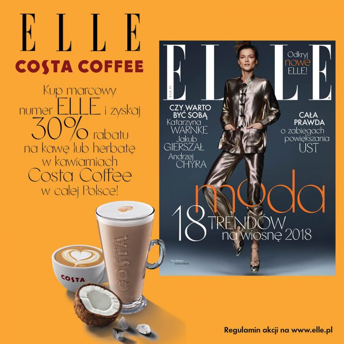 ELLE x Costa Coffee