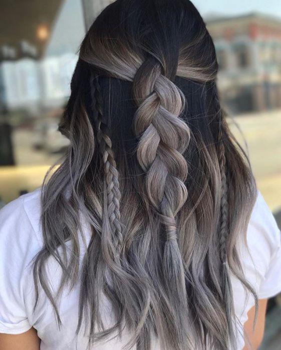 Ash Brown Hair Najmodniejsza Koloryzacja Dla Brunetek Ellepl