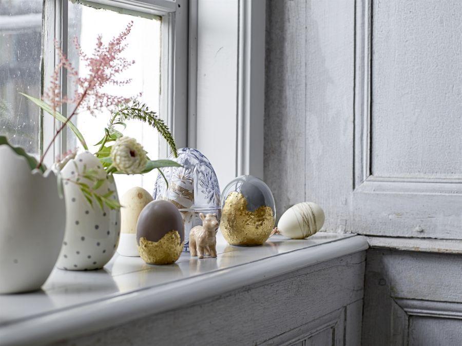 Wielkanocne Dekoracje Na Okno Elle Decoration Trendy Wiosna Lato