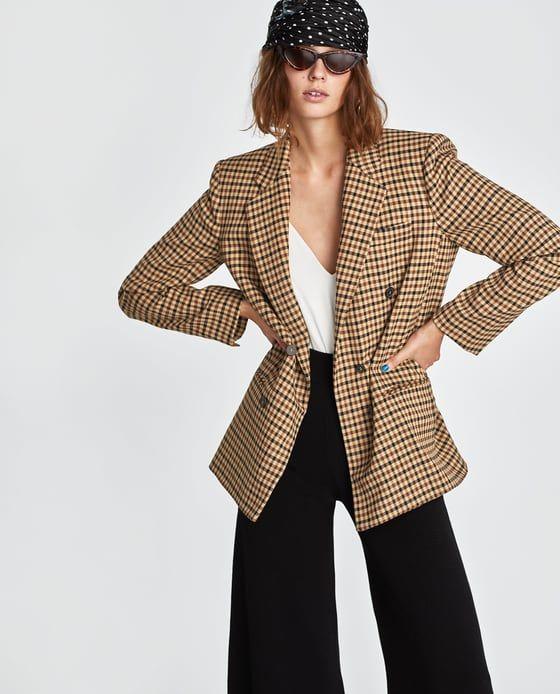 66cce5536d3ef Marynarka w kratę - Elle.pl - trendy wiosna lato 2019: moda, modne ...