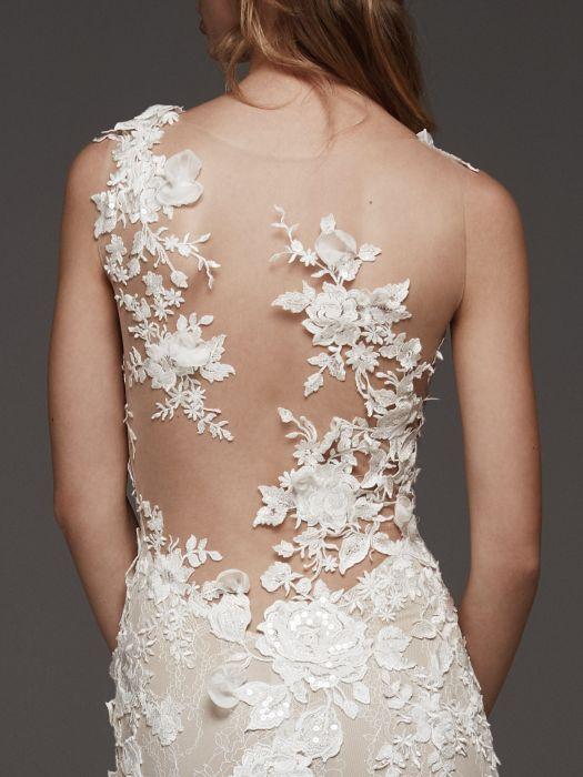 Suknie ślubne Atelier Pronovias 2019 Elle Wedding Trendy Wiosna