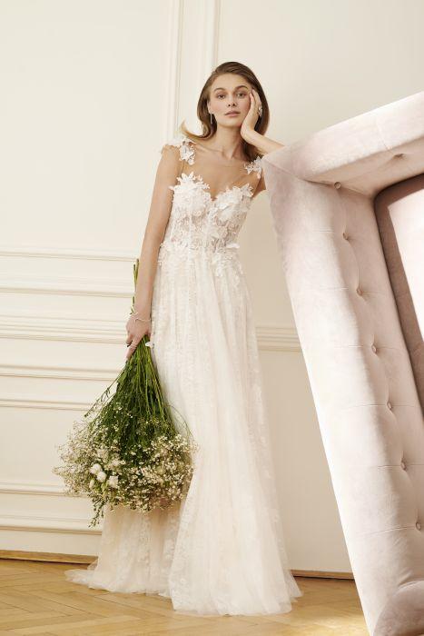 Suknie ślubne Z Koronką 2018 Elle Wedding Trendy Wiosna Lato