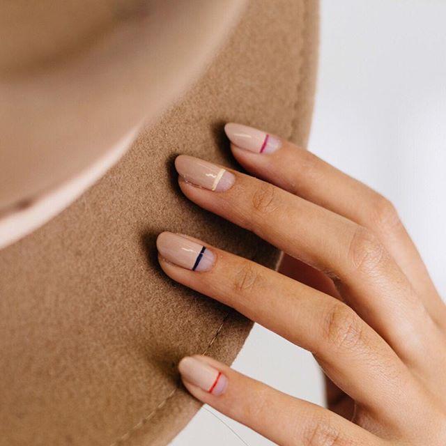 Manicure I Lakiery Do Paznokci Nude Ellepl Trendy Jesień Zima