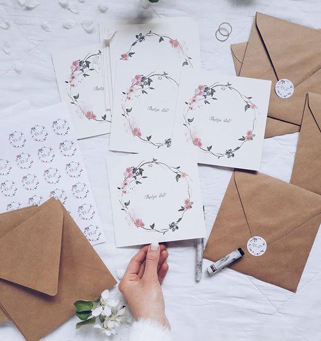 Zaproszenia ślubne Elle Wedding Trendy Wiosna Lato 2019 Moda