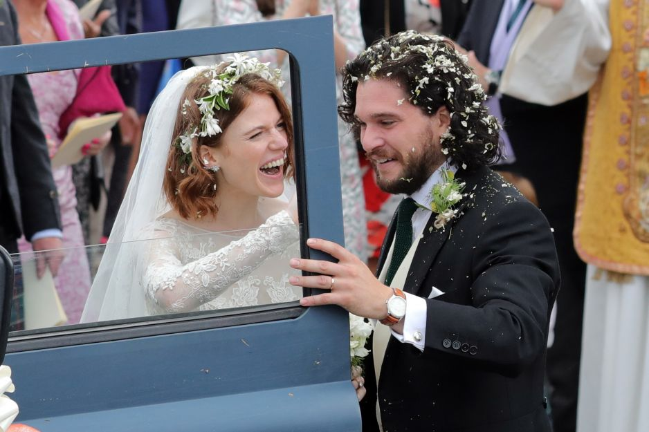 Jak Wyglądał ślub Kita Haringtona I Rose Leslie Z Serialu Gra O
