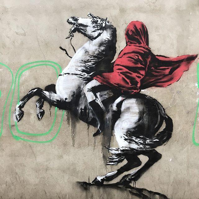Banksy - nowe murale w Paryżu