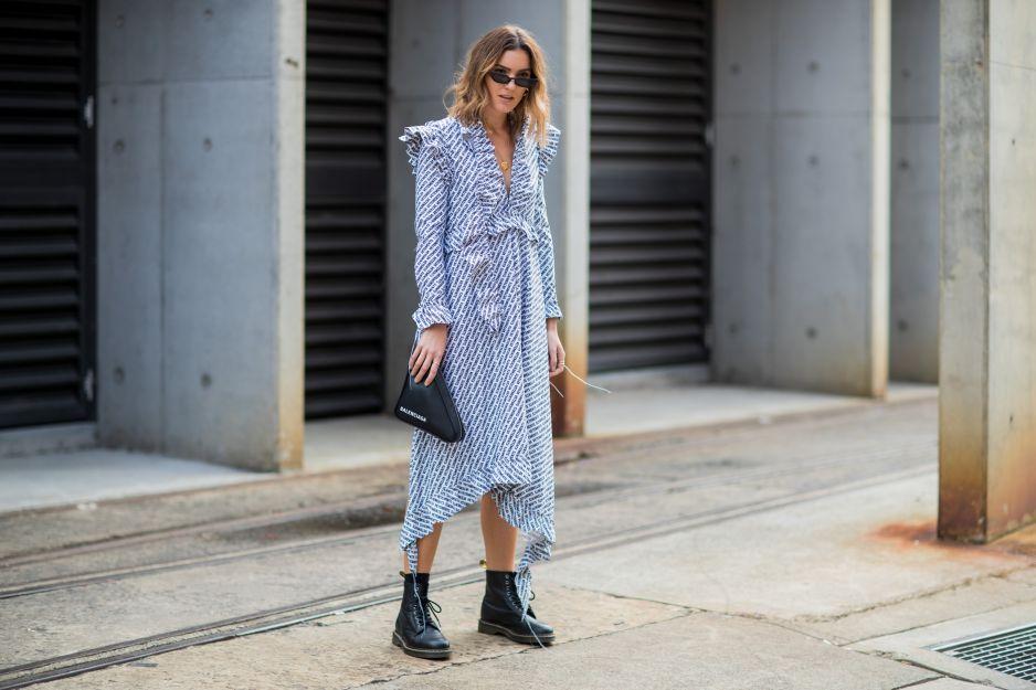 bbd84a1c78 Jak nosić Martensy  - Elle.pl - trendy wiosna lato 2019  moda