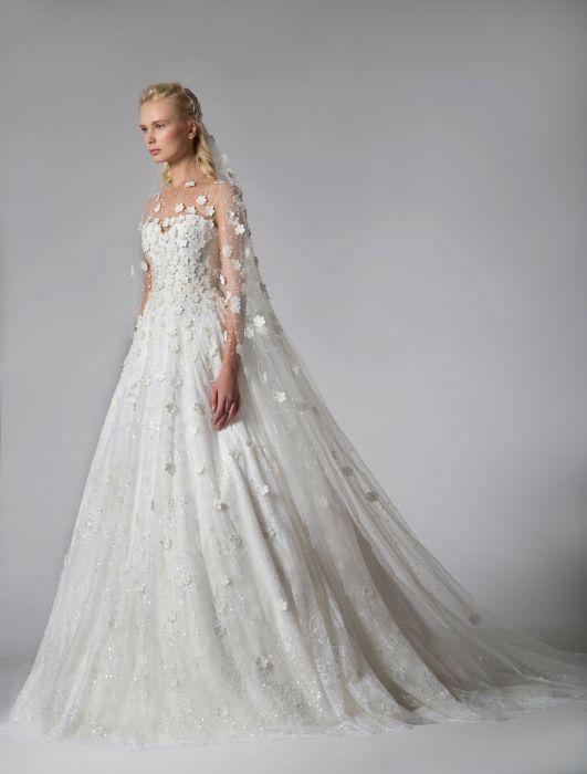 138ace54a9d Suknie ślubne Georges Hobeika jesień-zima 2019/2020 - Elle Wedding ...