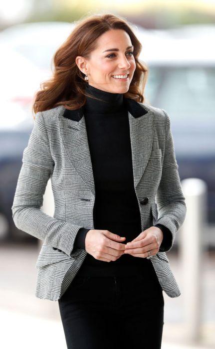 ef50e83ad5 Kate Middleton w marynarce inspirowanej stylem Księżnej Diany - Elle ...