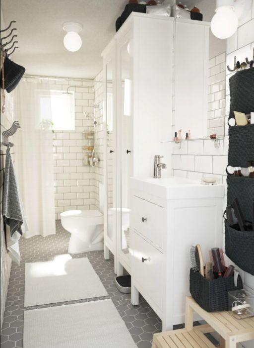 Pomysły Na Schowki W łazience Elle Decoration Trendy