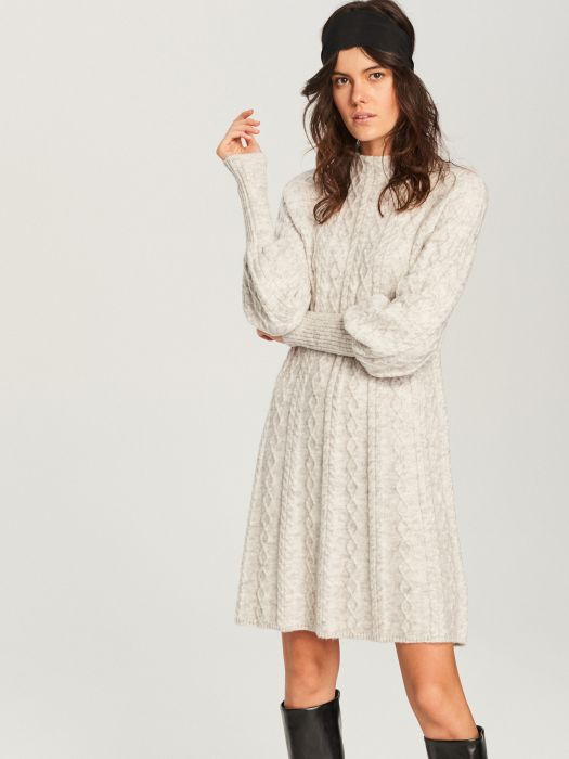 f1fddfc5b1 Sukienka dzianinowa - Elle.pl - trendy wiosna lato 2019  moda