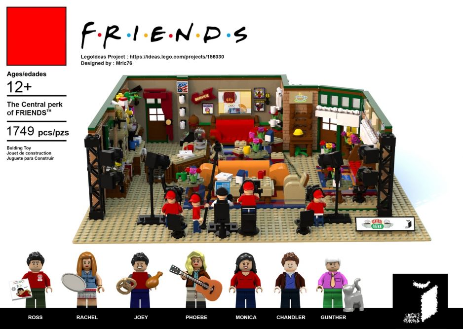The Central Perk, LEGO, projekt: Mric76