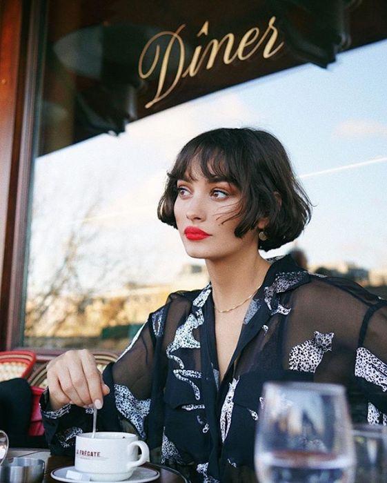 Krótkie Fryzury Z Grzywką Najmodniejsze Cięcia 2019 Elle